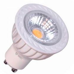 Lámparas LED COB GU10 de 6W 460 Lm luz fría
