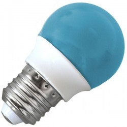 Bombilla Decorativa de LED E27 Azul 3W
