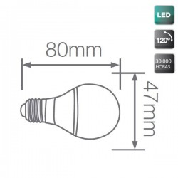 Bombilla Decorativa de LED E27 Verde 3W