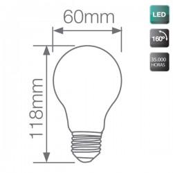 bombillas estándar LED E27 13W 1200Lm 160º día