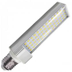 Bombillas LED PL E27 de 11W 1000Lm 6000K fría