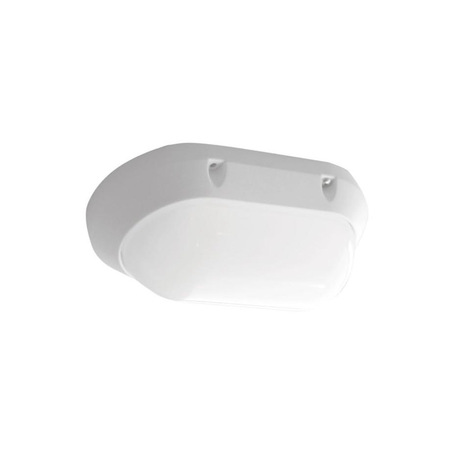Aplique LED para Exterior 7W 450lm 3000K Oval