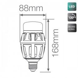 Bombillas LED E27 70W 7000 Lumens 5000K