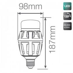 Bombillas LED E40 100W 10000 Lumens 5000K
