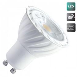 Lámparas LED COB GU10 de 8W 556 Lm luz fría