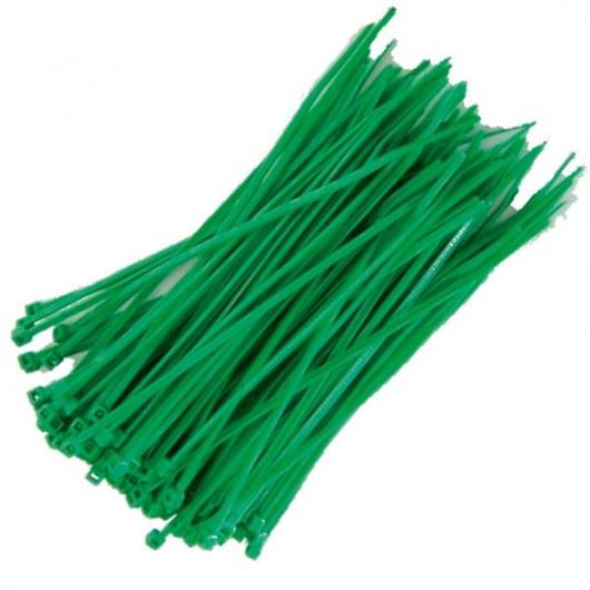 Bolsa de 100 unidades de bridas color natural, 100% nylon.  160x2,5.