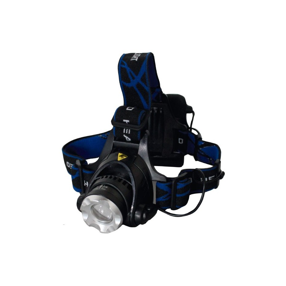 Linterna de cabeza de 5 LED con cintas ajustables