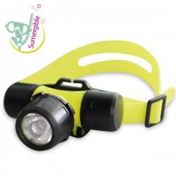 Linterna de cabeza sumergible de LED CREE