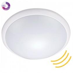 Plafón LED con sensor 1100lm 3000K IP44