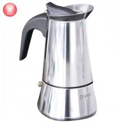 Cafetera tradicional de aluminio para 3 tazas