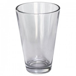 Vaso liso de cristal