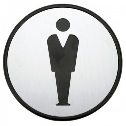 Símbolo baño adhesivo Hombre