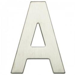 "Letra níquel satín ""A"""