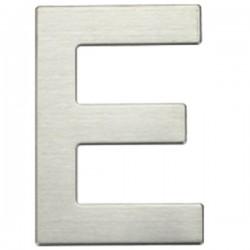 """Letra níquel satín """"E"""""""