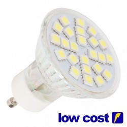 Bombilla LED GU10 4,6W 120º 320 lm Cálida