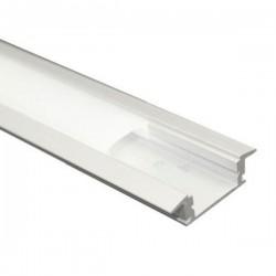 Perfiles LED de aluminio de 1 metro para empotrar
