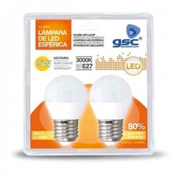 Pack 2 Bombillas LED 5W...