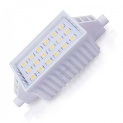 Lámpara LED lineal R7s 6W 78mm. 500 lm cálida