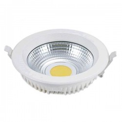 Downlight LED COB 25W 4000K 1800 Lm empotrable redondo