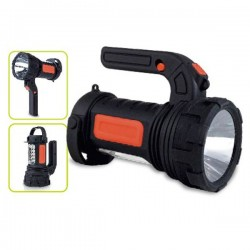 Linterna de LED multiusos de 5+1W
