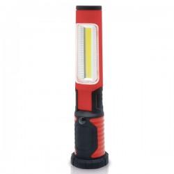 Lámpara LED portátil recargable abatible