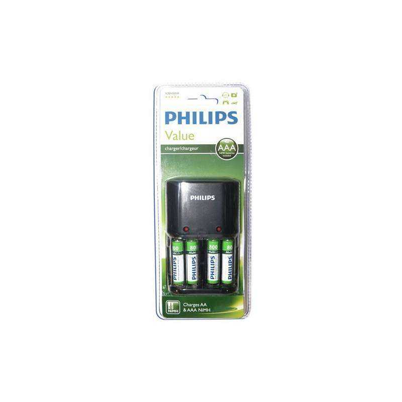 Cargador de pilas recargables philips - Cargador para pilas ...
