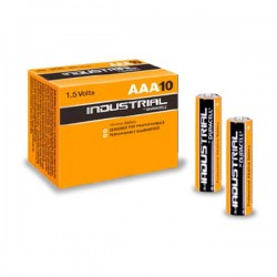 Pack 10 Pilas Alcalinas LR03 AAA Duracell Industrial
