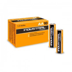 Pack 10 Pilas Alcalinas LR06 AA Duracell Industrial