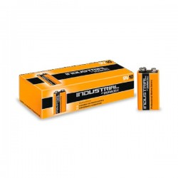 Pack 10 Pilas Alcalinas 9V Duracell Industrial