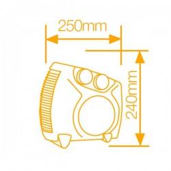 Calefactor Vertical / Horizontal 1000 / 2000W