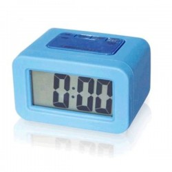 Reloj despertador de Silicona Azul