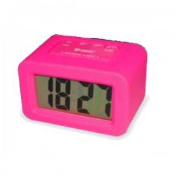 Reloj despertador de Silicona Rosa