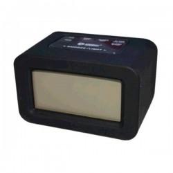 Reloj despertador de Silicona Negro