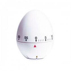Temporizador minutero con forma de Huevo