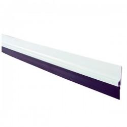 Burlete PVC con flecos autoadhesivo Blanco para puertas