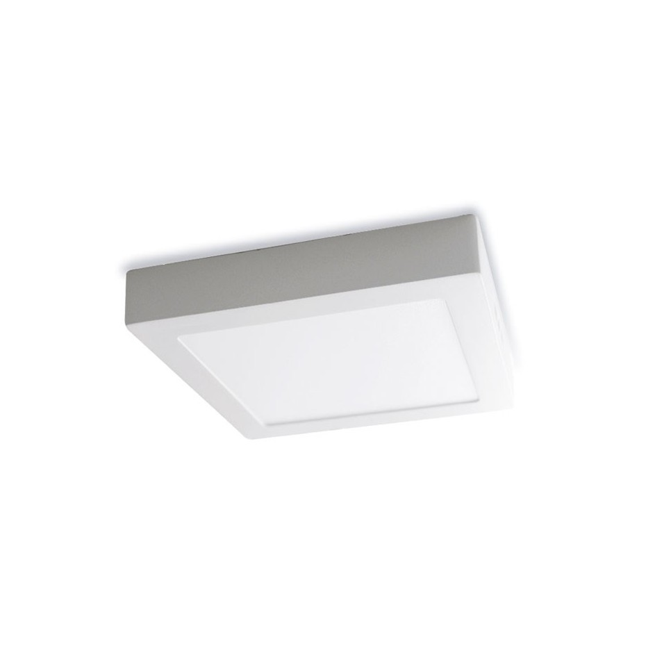 Downlight LED Superficie Blanco 24W 4200K 2300 Lm Cuadrado