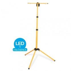 Tripode telescópico para 2 Proyectores LED o halógenos de 3 metros