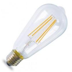 Bombilla LED Edison Ambar 1800K 4W 400lm