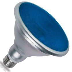 Bombillas PAR38 LED Azul 18W 700 Lm E27 IP65 120º