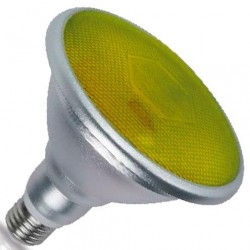 Bombillas PAR38 LED Amarillas 18W 700 Lm E27 IP65 120º
