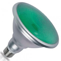 Bombillas PAR38 LED Verdes...