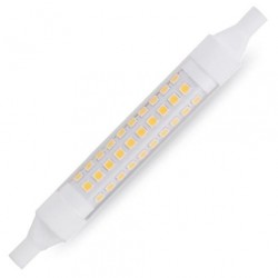 Lámpara LED lineal R7s 118 mm 10W 1000 lm Cálida 3000K