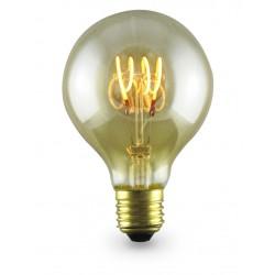 Lampara Decoloop decorativa globo G80 LED 4W E27 2000K
