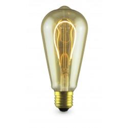 Lampara Decoloop decorativa pera LED 4W E27 2000K