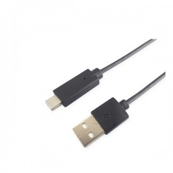 Cable USB macho a USB Tipo C macho 2.0 - 1M