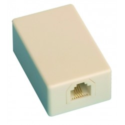 Base telefonica modular de superficie, 6P/4C.