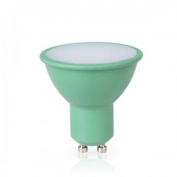 Lámpara Dicroica 4W GU10 Verde 230V