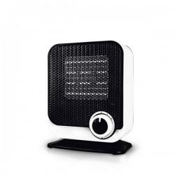Calefactor vertical cerámico 750W/1500W Blanco y negro