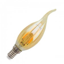 Lampara Vintage LED vela...