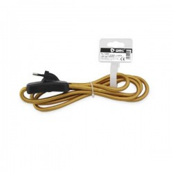 Cable textil Dorado 1.5...